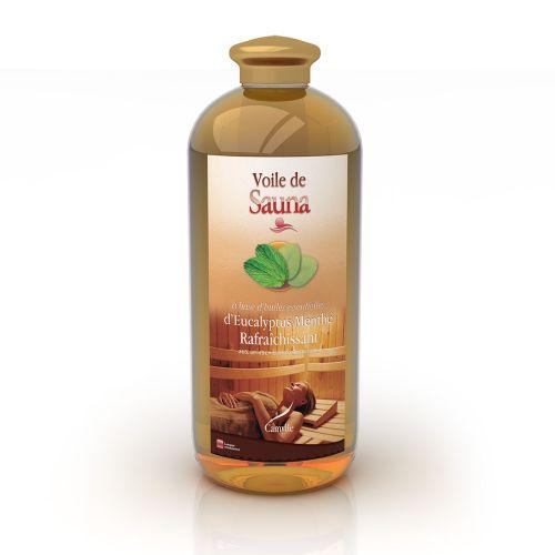 Voile de Sauna - Eucalyptus - Menthe