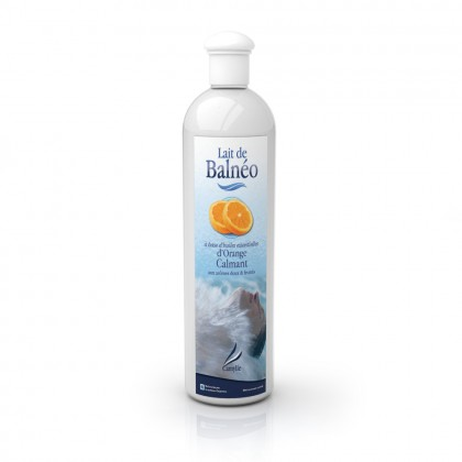 Lait de balnéo - Orange