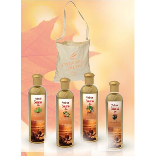 Voile de Sauna - Eucalyptus+Fleur d'Oranger+Elinya+Orient