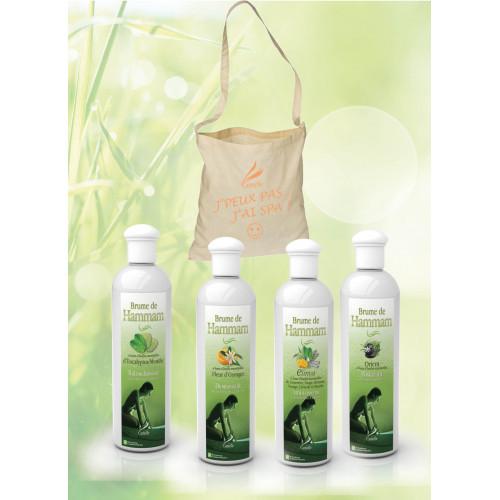Brume de Hammam -  Eucalyptus/Menthe+Fleur d'Oranger+Elinya+Orient