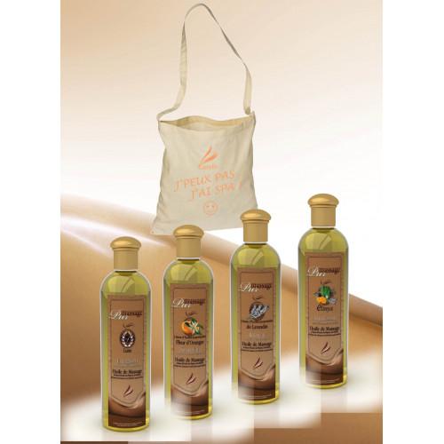 Pur Massage - Luxe + Fleur d'Orangers + Lavandin + Elinya