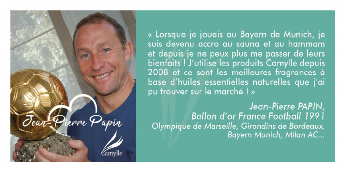 Jean-Pierre Papin aime Camylle